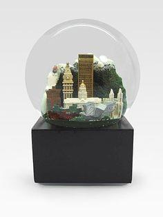 Saks Fifth Avenue Denver Snow Globe