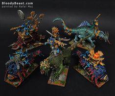 BloodyBeast.com: Lizardmen Monster Mash