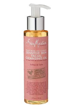 shea moisture cleansing oil