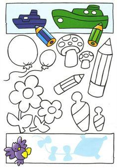 Развивающая тетрадь для малышей