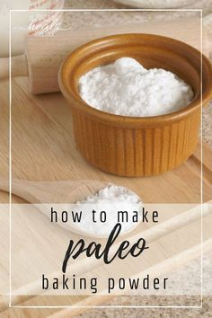 How to Make Baking Powder :: Paleo | The Family That Heals Together