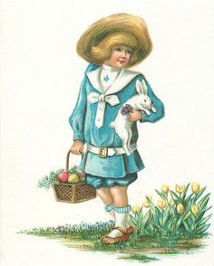 Illustrator Clara Miller Burd. Easter, children. Discussion on LiveInternet - Russian Service Online diary