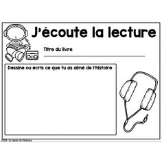 Affiches et fiches: ateliers de litttératie Teaching French Immersion, Grade 1 Reading, French Teaching Resources, Teaching Ideas, French Education, Core French, French Classroom, French Teacher, French Lessons