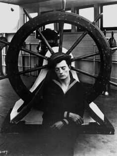 "1924us: ""Buster Keaton in The Navigator, 1924 """
