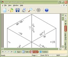 Formulator Tarsia. Puzzle generator, supposedly free!! Awesome! If this works I can stop making puzzles by hand