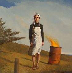 "Bo Bartlett ""The Letter"", 2010 Ben Long, American Realism, American Art, Bo Bartlett, Lifelong Friends, Rene Magritte, Philadelphia Museum Of Art, Portraits, Amazon Art"