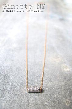 #ginette #diamond #ginette_ny #necklace