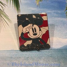 Authentic ©Disney 12 Months of Magic Mickey Fireworks Flag Salute Pin Patriotic