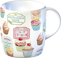 Retro Treats Barrel Mug