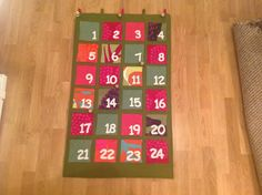 Joulukalenteri Advent Calendar, Holiday Decor, Home Decor, Decoration Home, Room Decor, Advent Calenders, Home Interior Design, Home Decoration, Interior Design