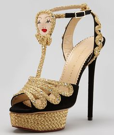 More Fairy Tale Heels from Charlotte Olympia's Fall 2013 Collection