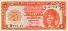Uang Lima Rupiah Yang Diterbitkan Oleh Republik Indonesia Serikat