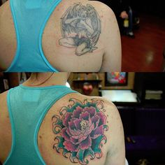 28 Graceful Cover Up Tattoo Ideas