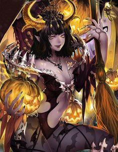 Vampira demonio bruja legend of the cryptids