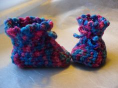 Baby Booties Multicolored  Free Shipping   by Pepperbelle, $12.00  See more at http://www.etsy.com/shop/Pepperbelle