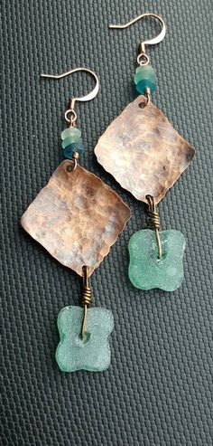 Check out this item in my Etsy shop https://www.etsy.com/listing/470918711/ancient-roman-glass-earrings-boho