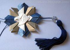 passo a passo de origami mandala espirito santo - Pesquisa Google