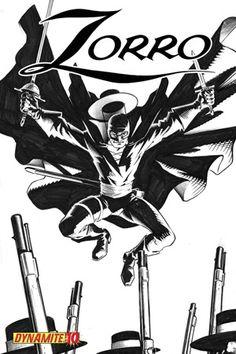 ZORRO #10 - BLACK AND WHITE COVER EDITION