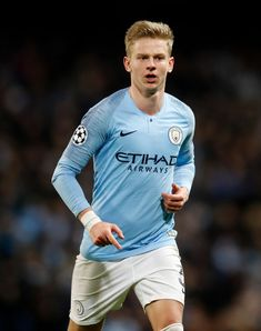 Manchester City's Oleksandr Zinchenko during the UEFA Champions League round of 16 second leg match at the Etihad Stadium, Manchester. (Photo by Martin Rickett/PA Images via Getty Images) Zen, English Premier League, Uefa Champions League, Manchester City, Graphic Sweatshirt, Sporty, Football, Sweatshirts, Iphone Wallpapers