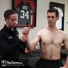 Special Tests for Rotator Cuff Tears - Mike Reinold Rotator Cuff Tear, Physical Therapy, Feel Better, Feelings, Shoulder, Physical Therapist