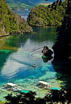 Coron Island, Philippines ...