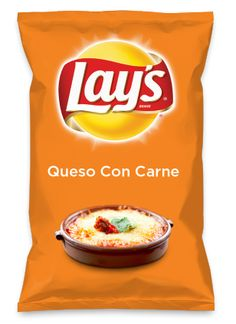 Wouldn't Queso Con Carne be yummy as a chip? Lay's Do Us A Flavor is back, and the search is on for the yummiest flavor idea. Create a flavor, choose a chip and you could win $1 million! https://www.dousaflavor.com See Rules.