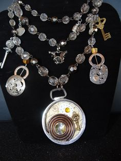 steampunk bling by CridegaCreations on Etsy, $28.00