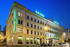 Grandhotel Brno (Benesova 18 - 20) Looking back on a 140 year-long tradition in hospitality, this centrally located hotel in the heart of Brno's picturesque old town is close to all major sights. #bestworldhotels #hotel #hotels #travel #cz #brno