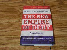 The New Empire of Debt 2nd Ed.William Bonner 2009 Hardcover w/jacket Economics