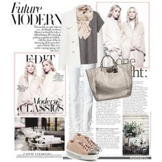 Future Modern, created by malbina-82 on Polyvore