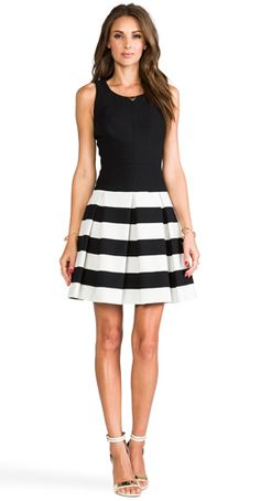 Striped skirt --Something I actually have! haha it's my favorite dress but you can buy it a lot cheaper at Charlotte Russe, or i saw it in Charming Charlies