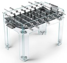 That's one gorgeous foozball table!