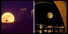 Supermoon is in love with #Rome