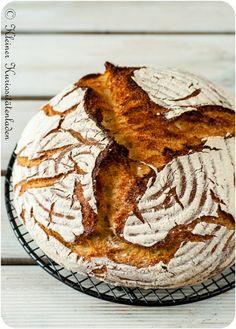 Potato bread from the pot - Backen - Bread Recipes Different Types Of Bread, Different Recipes, Scones, Bread Recipes, Baking Recipes, Kenwood Cooking, Quiche, Potato Bread, Potato Rice