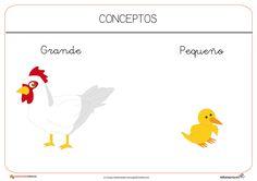 Indice de contenido1 Recursos educativos: Conceptos básicos1.1 Dentro-fuera1.2 Delante-detrás1.3 Arriba-abajo1.4 Muchos-pocos1.5 Grande-pequeño1.6 LLeno-Vacio Recursos educativos: Conceptos básicos Los conceptos báscios
