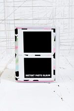 Polaroid Photo Album in Pink at Urban Outfitters