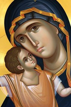 Theotokos: Queen of Heaven.