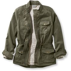Bean Lined Freeport Field Military Inspired Jacket Military Field Jacket, Military Style Coats, Womens Military Style Jacket, Field Jacket Womens, Plus Size Outerwear, Outerwear Women, Outerwear Jackets, Line Jackets, Military Jackets