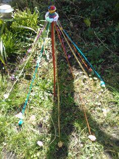 Fairy Maypole in my garden @Gabrielle more