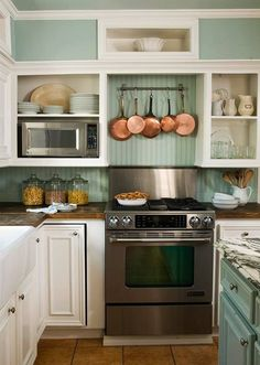 Ideas for organizing your pots and pans