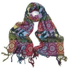 ladies scarf Thick Larma Animal design scarves shawls wrap neck soft fashion