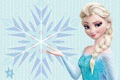 Convite de Aniversário Frozen Elsa com fundo super delicado ideal para o convite de anivesário  da sua filha.