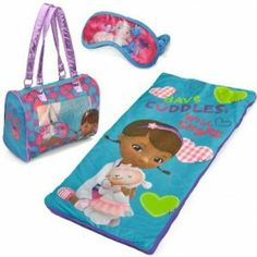 Doc McStuffins Sleep Over Sleeping Bag