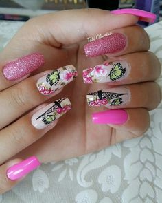 J Nails, Cute Nails, Hair And Nails, Beauty Makeup, Eye Makeup, Hair Beauty, Beautiful Nail Art, Gorgeous Nails, Triangles