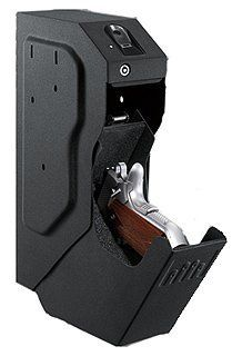 GunVault (Gun Care) SpeedVault-Bio Biometric . $342.38. Keep your handgun safe, secure and ready for action with the biometric SpeedVault (SV 500) series. Offering a revolutionary design, the SpeedVault is equally as fast as it is discreet. It is the ideal choice for a home or business looking for added security. Features: - Fast activation drop-down drawer - Multiple mounting options - Protective foam-lined interior - 18-gauge steel construction - Mounting hardware included - Au...