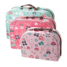 Sass & belle kofferset birds