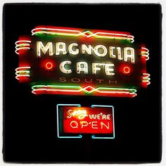 ...sorry, they're open! Magnolia Cafe in South Austin!