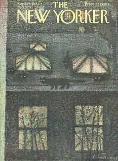 The New Yorker - Saturday, September 28, 1963 - Issue # 2015 - Vol. 39 - N° 32 - Cover by : André François