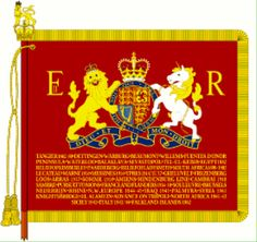 Blues and Royals Sovereigns Standard
