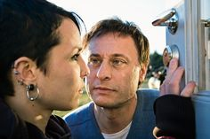 Noomi Rapace as Lisbeth Salander, and Michael Nyqvist as Mikael Blomkvist, in The Girl With The Dragon Tattoo Gerard Butler, Whats On Tv Tonight, Noomi Rapace, Netflix, Dragon Tattoos For Men, Lisbeth Salander, Millenium, Stieg Larsson, Star Wars